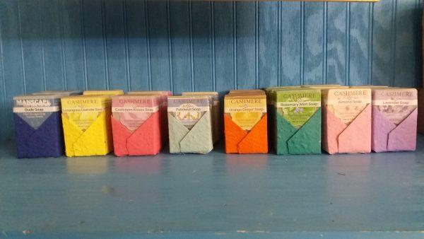handmade soap all
